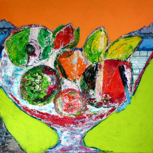 keukenschilderij Niek